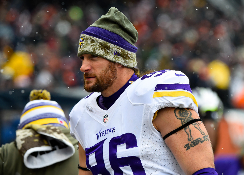 timeless design 58759 9ae56 Brian Robison Retires From NFL