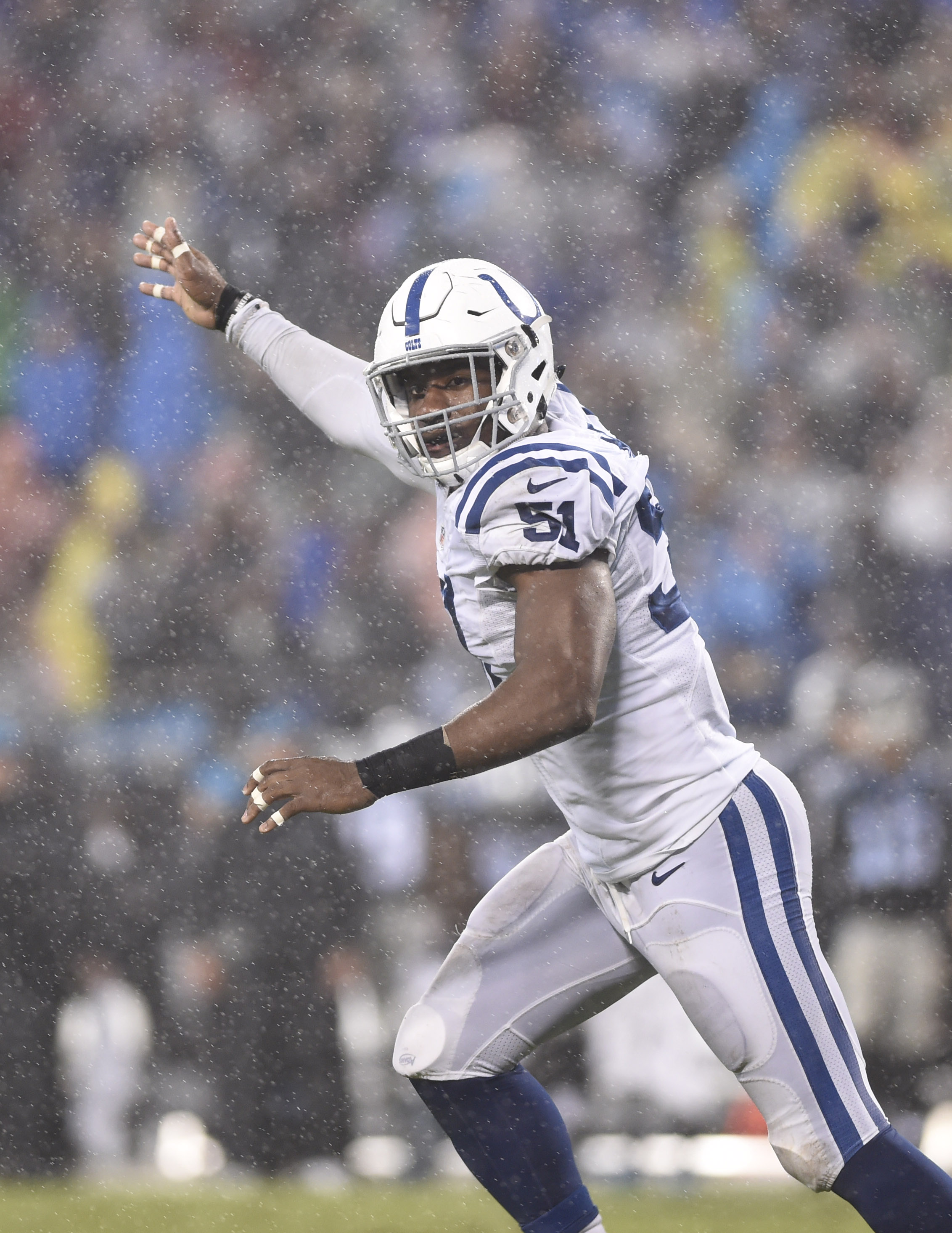 Colts' Sio Moore Arrested