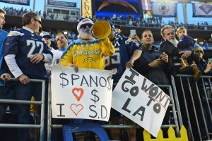 Los Angeles Chargers fans general (Featured)
