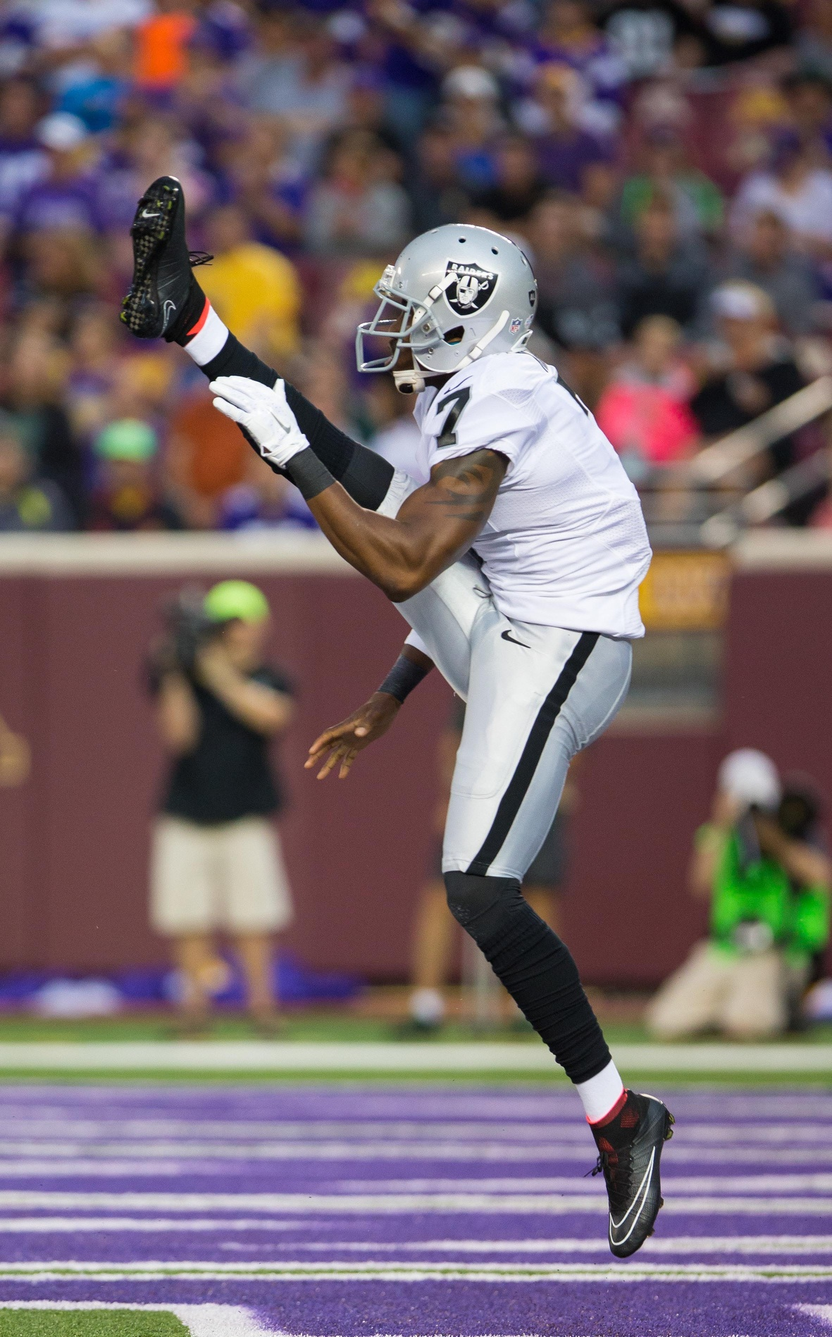 Raiders Release Punter Marquette King