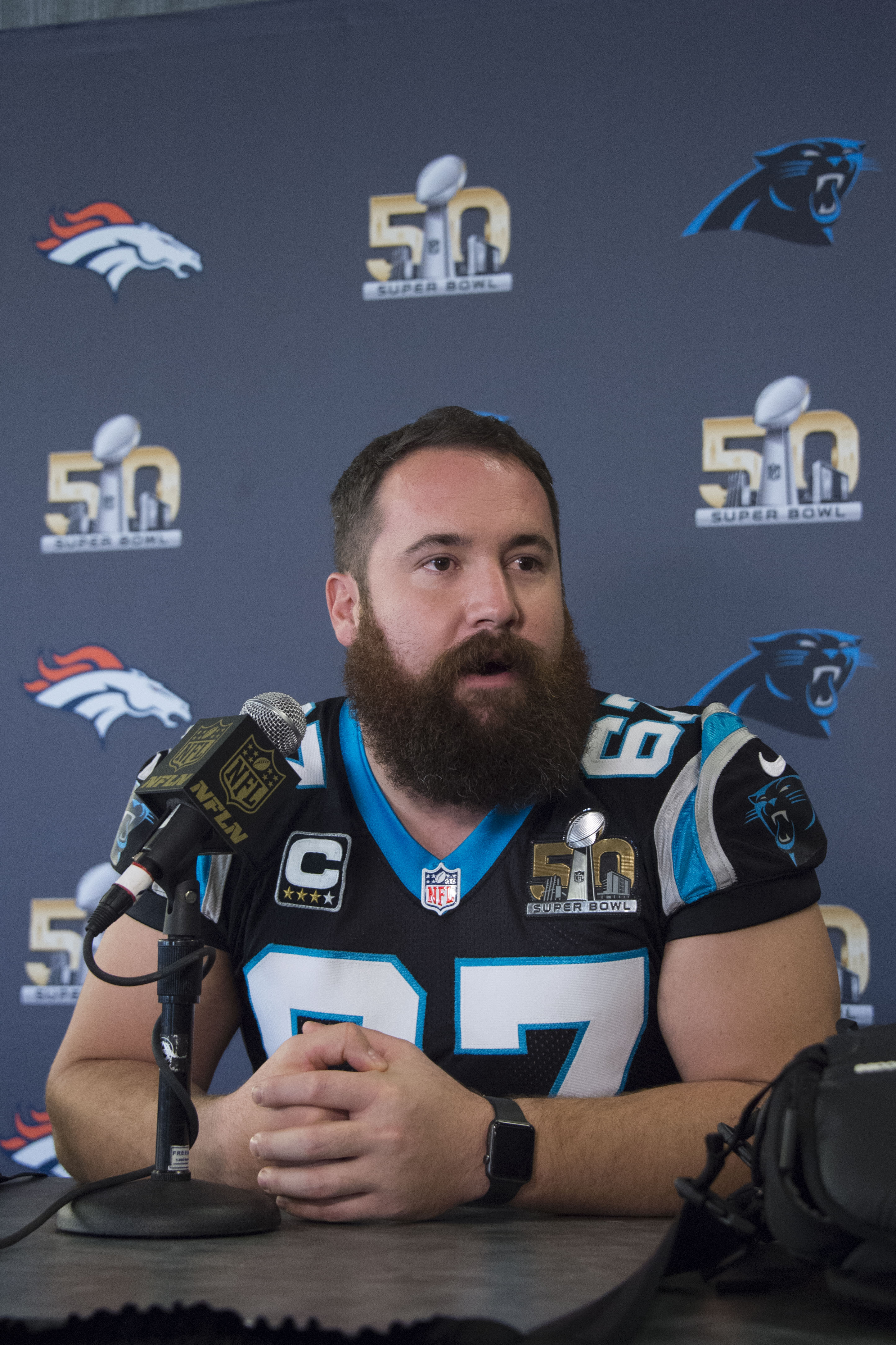 Panthers Sign Ryan Kalil To Extension