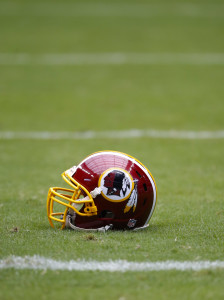 Redskins Helmet (Vertical)