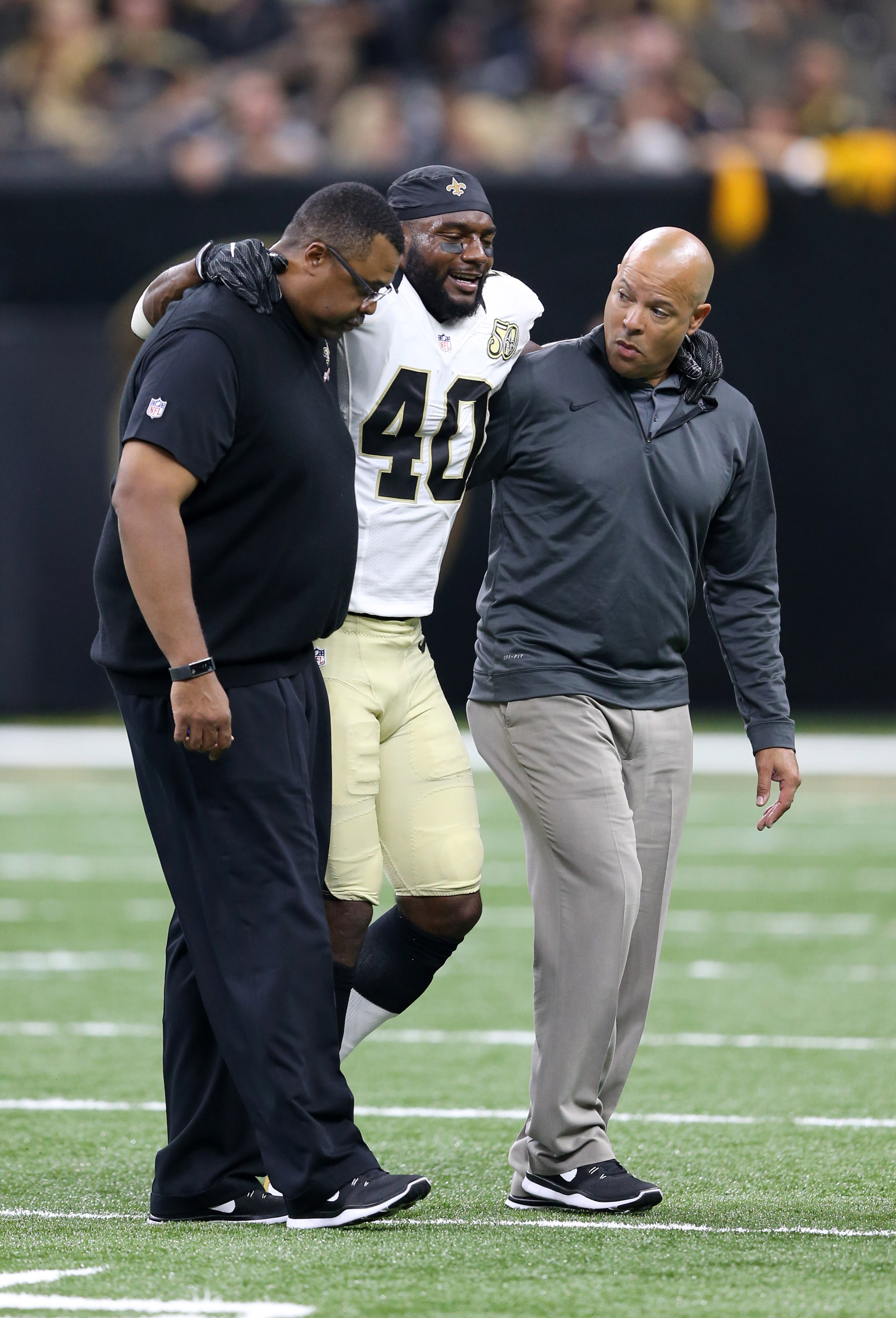 Saints Delvin Breaux Done For Year