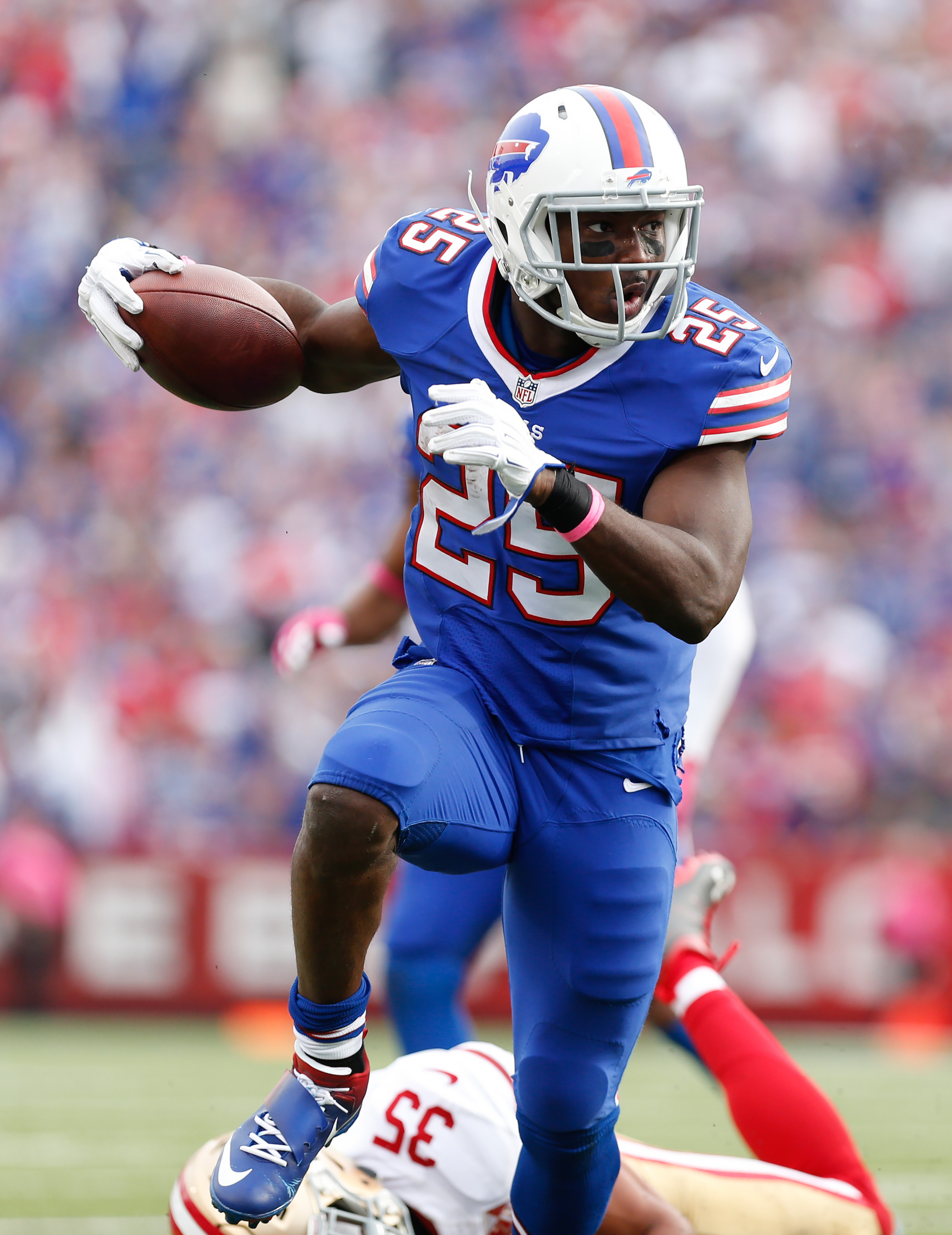Bills LeSean McCoy Unlikely To Play Sunday