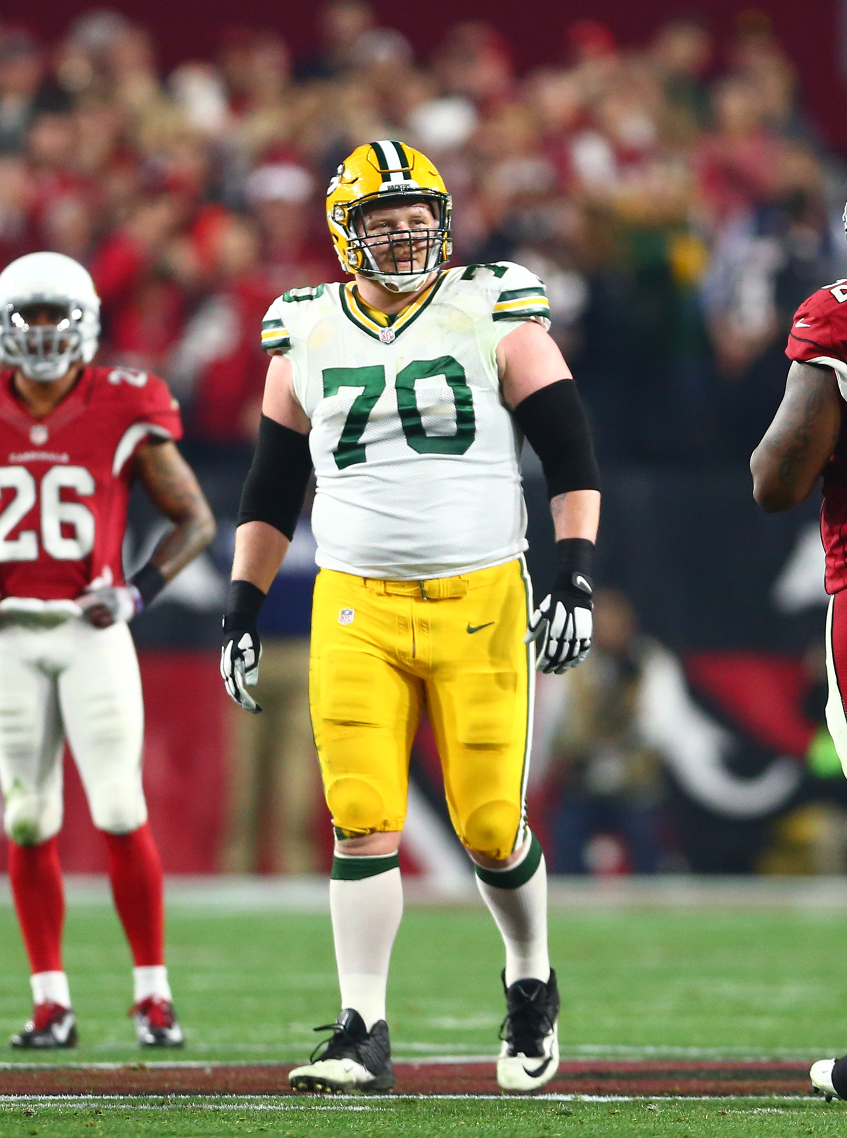 T J Lang Down To Packers Lions Seahawks