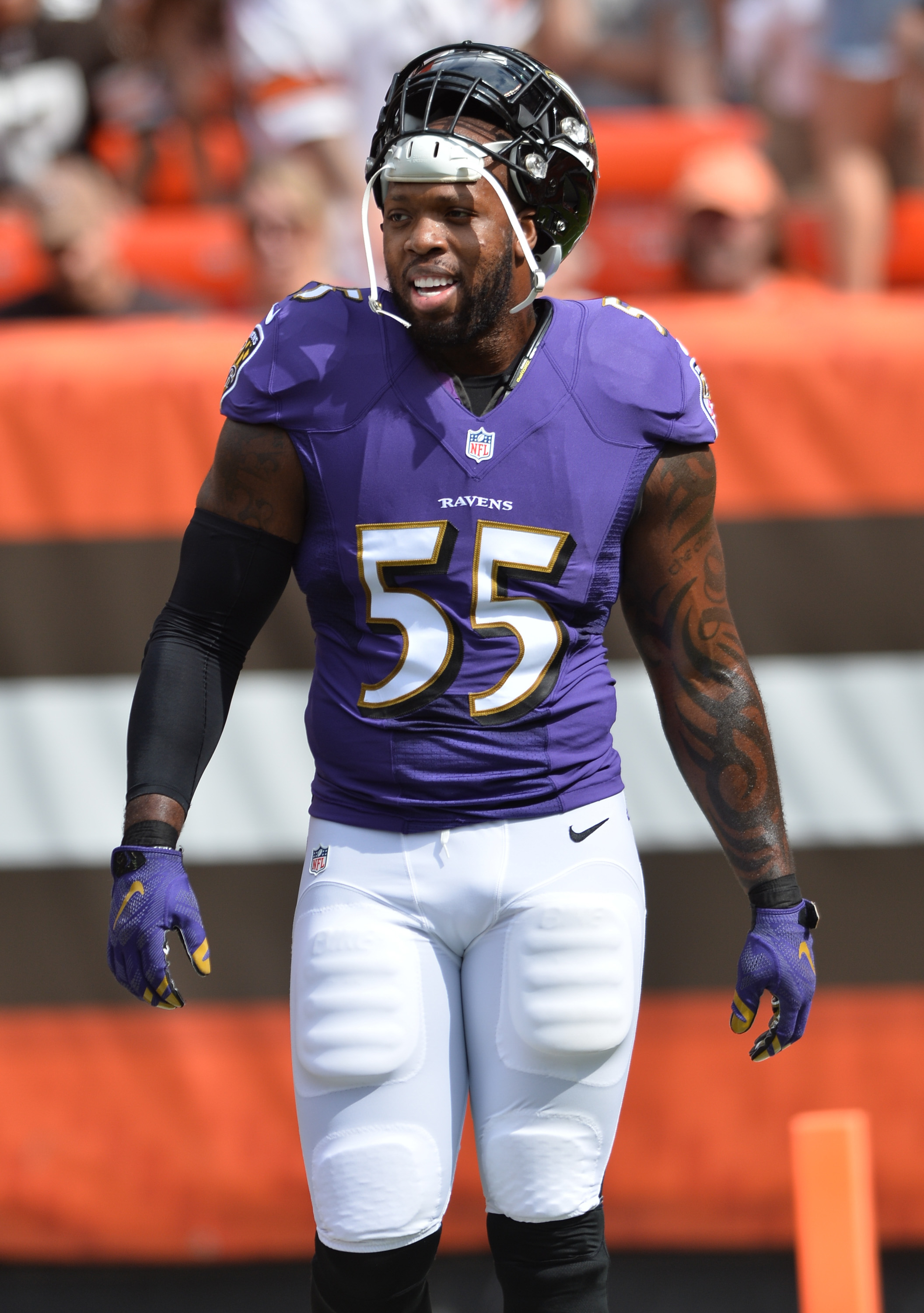Terrell Suggs Suffers Torn Biceps