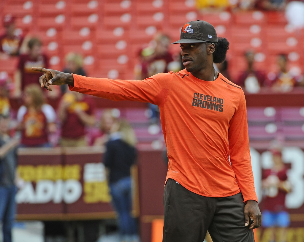 Robert Griffin III Cleared For Contact