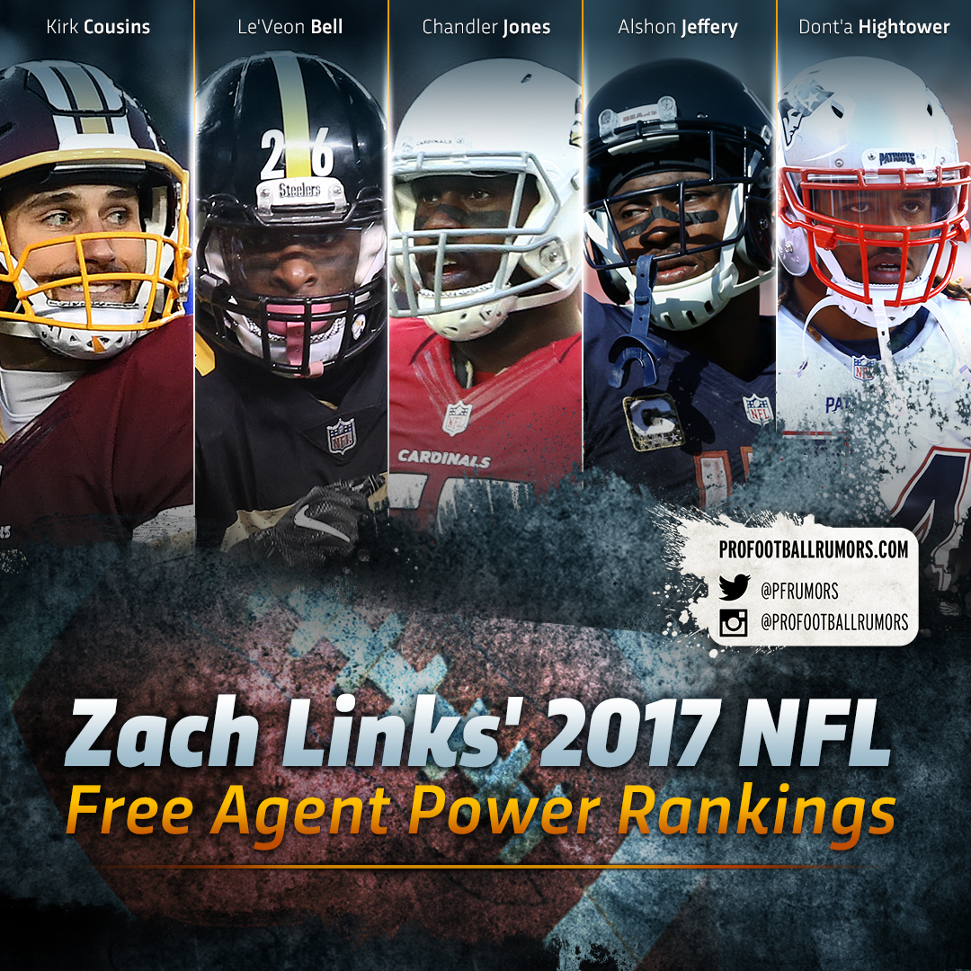 2017 Free Agent Power Rankings With Text (vertical)