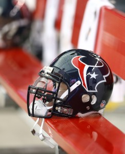 Texans Helmet (Vertical)