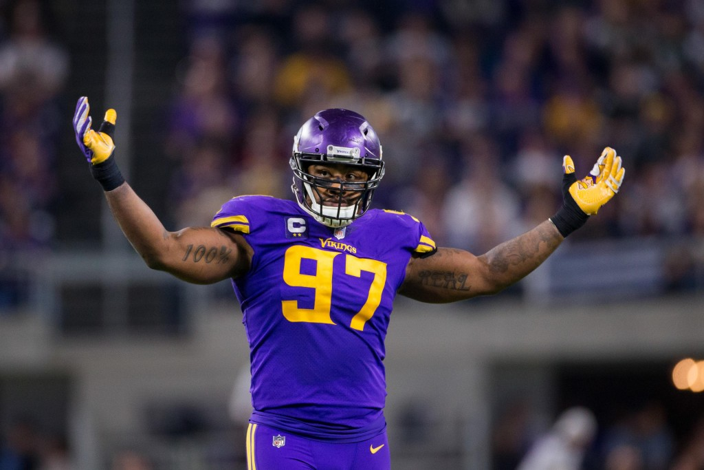 Vikings Sign Everson Griffen To Extension