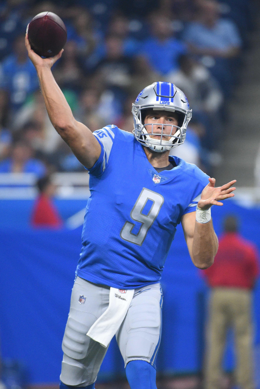 Latest Lions QB Matthew Stafford