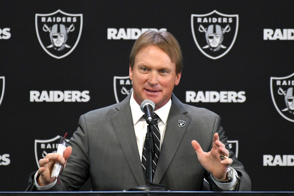 Jon Gruden Discusses Raiders' Plans For Draft, Free Agency