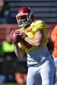 e72d40eda67 Mayfield s path may be the most interesting. The most accomplished college  quarterback of this group