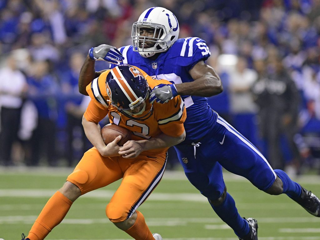 The Colts have signed linebacker Jon Bostic according to a team announcement Bostic will look to get back on track