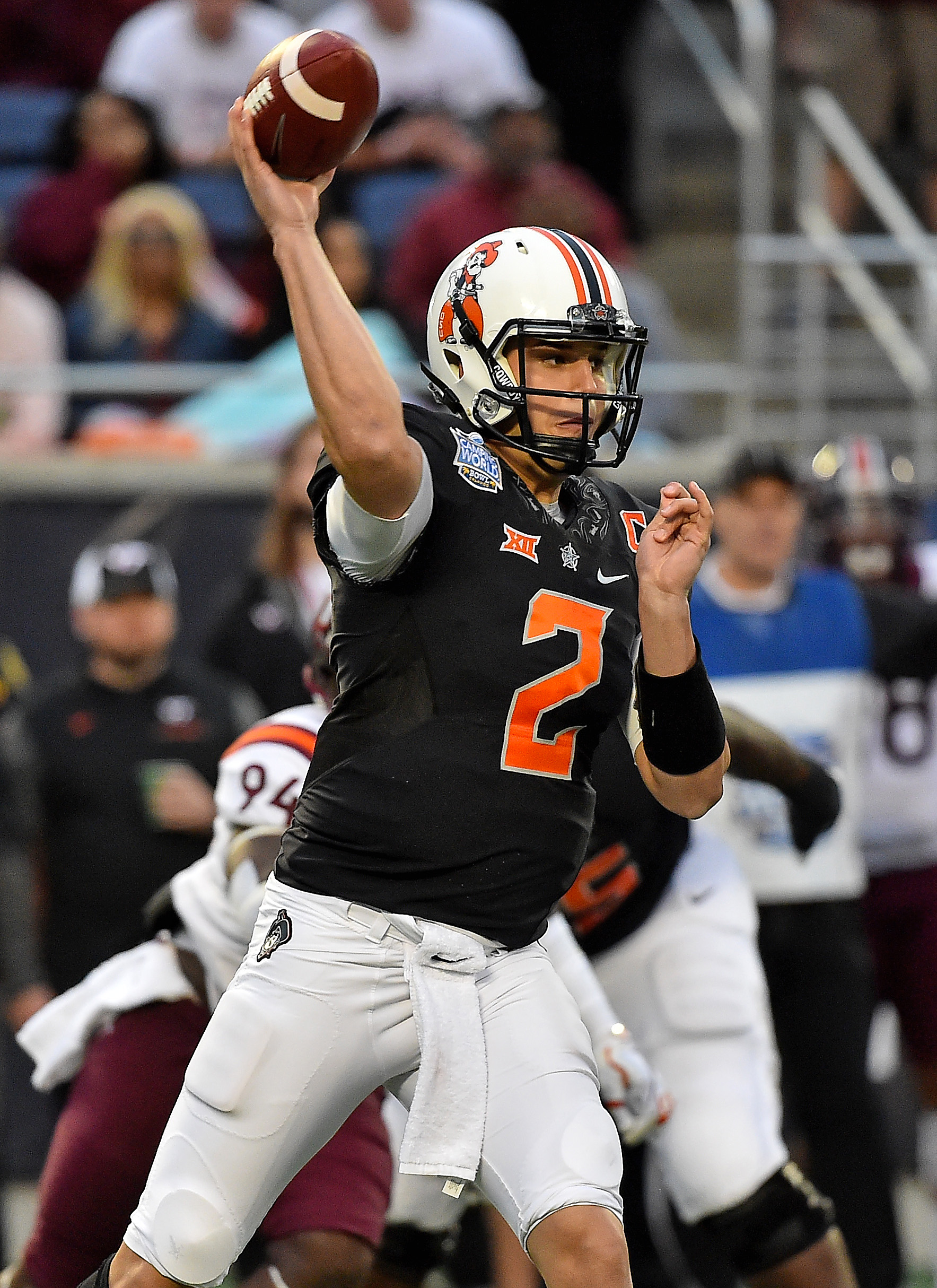 Steelers Sign Rookie Qb Mason Rudolph