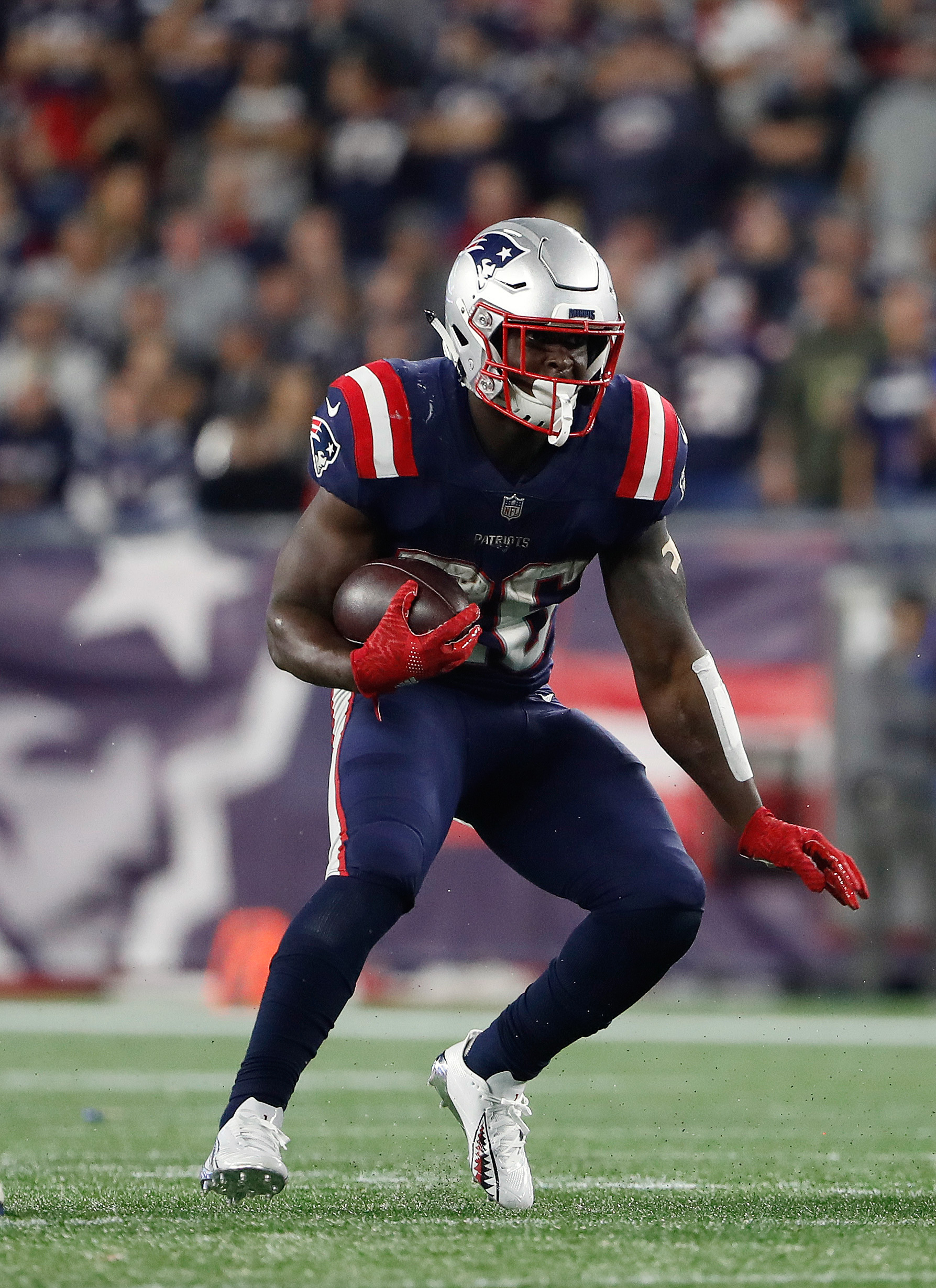 Patriots Place Sony Michel On Ir Activate Damien Harris