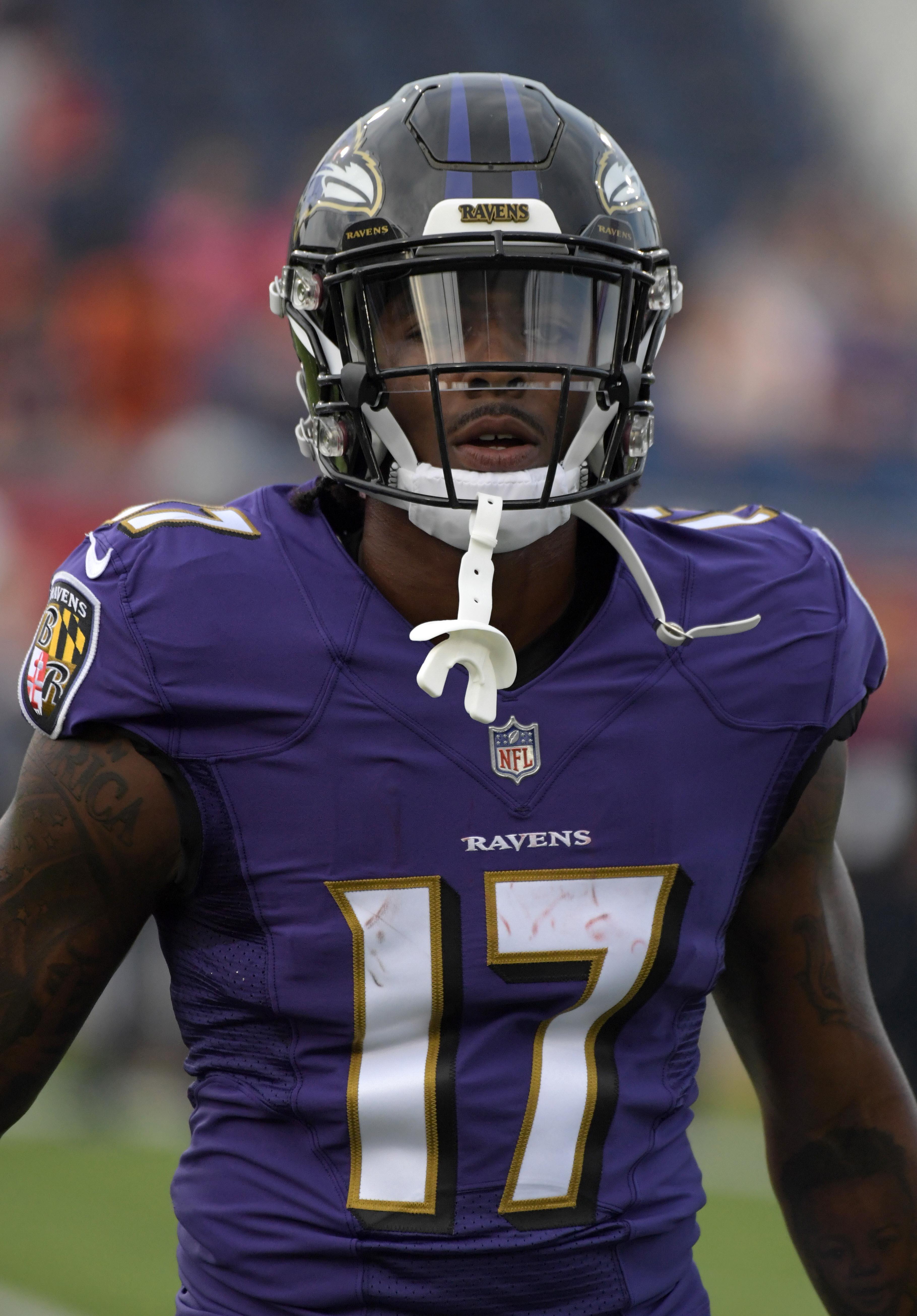 Ravens Release Jordan Lasley