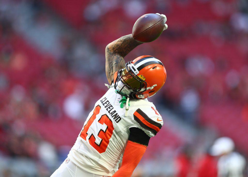 Latest On Browns' Receivers - profootballrumors.com