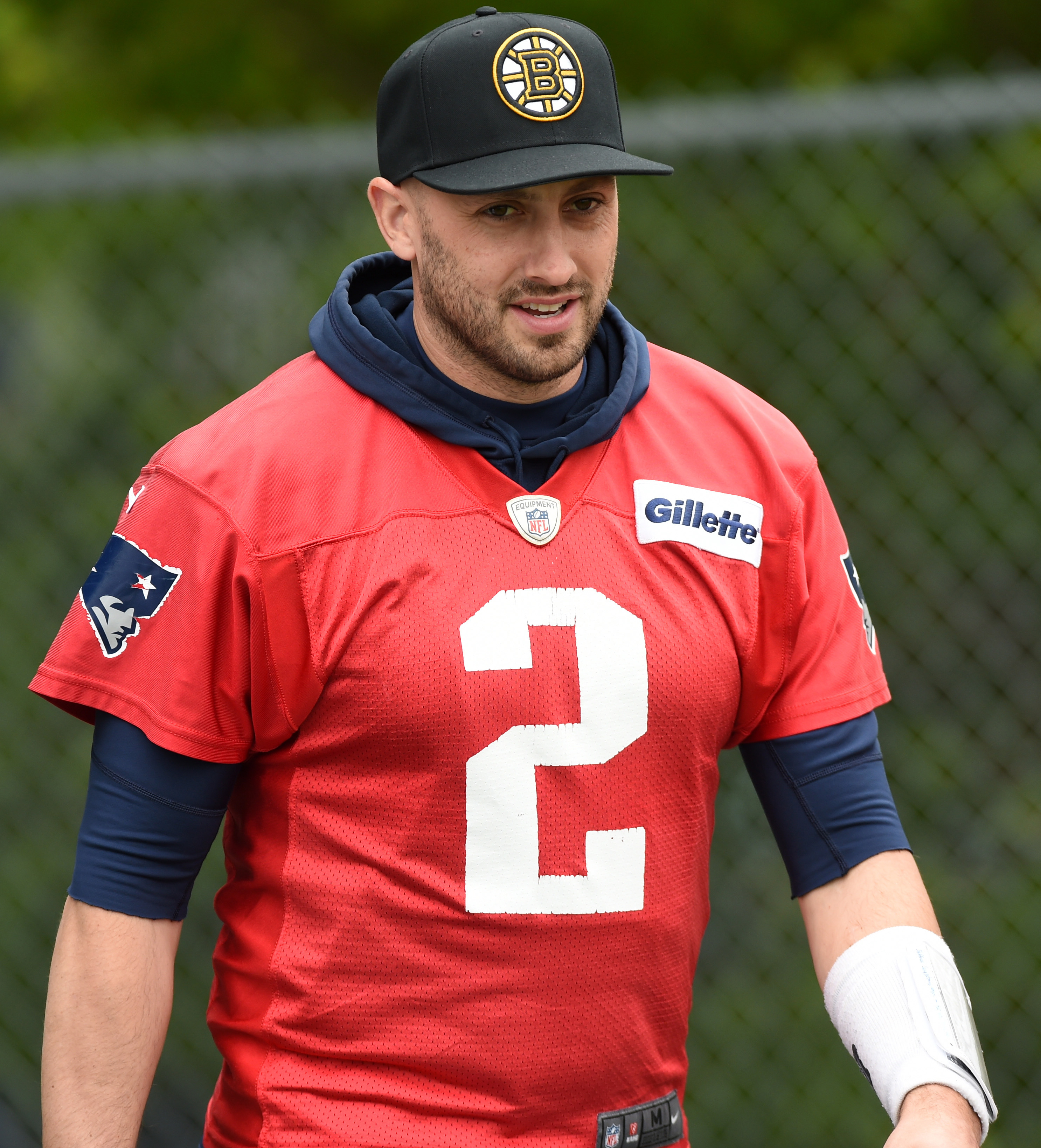 Release Candidate Patriots Qb Brian Hoyer